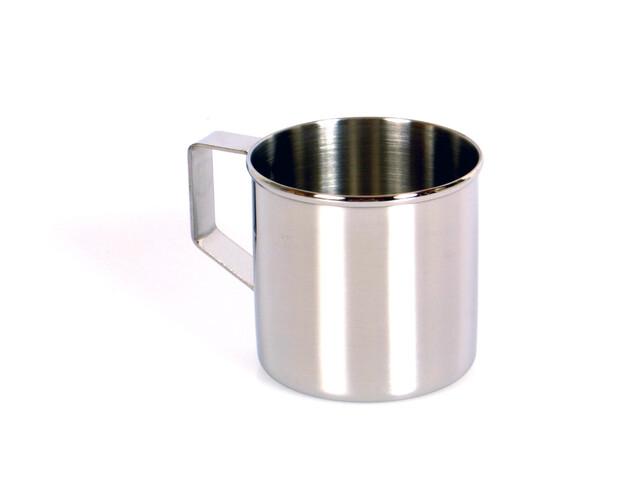 Zebra - Tasse en acier inoxydable - gris/blanc